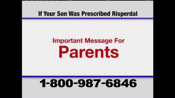 Pulaski & Middleman TV Spot, 'Message for Parents on Risperdal'