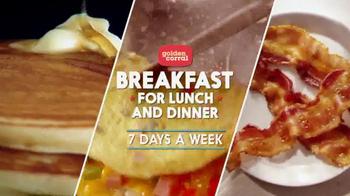 Golden Corral TV Spot, 'Breakfast for Lunch and Dinner' - Thumbnail 2
