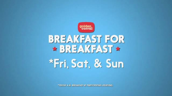 Golden Corral TV Spot, 'Breakfast for Lunch and Dinner' - Thumbnail 5