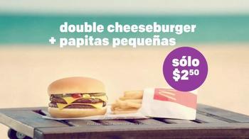 McDonald's Double Cheeseburger y Papitas TV Spot, 'La playa' [Spanish] - Thumbnail 8