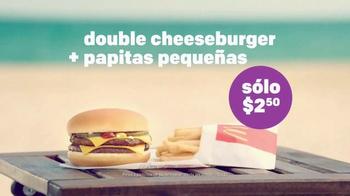 McDonald's Double Cheeseburger y Papitas TV Spot, 'La playa' [Spanish] - Thumbnail 7