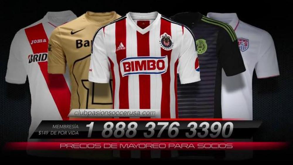 Club Pasion Soccer TV Commercials - iSpot.tv b9e5d642e735a