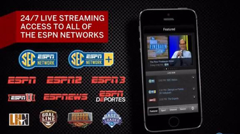 WatchESPN App TV Spot, 'SEC Network' - Thumbnail 3