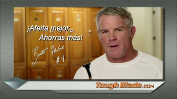 MicroTouch Tough Blade TV Spot, 'Hinchas' con Brett Favre [Spanish] - Thumbnail 9