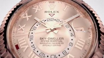 Rolex Oyster Perpetual Sky-Dweller TV Spot, 'Shine Through' - Thumbnail 1