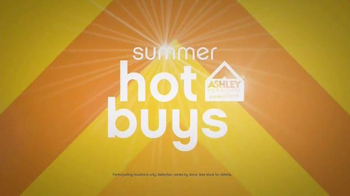 Ashley Furniture Homestore TV Spot, 'Summer Hot Buys' - 642 commercial airings