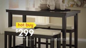 Ashley Furniture Homestore TV Spot, 'Summer Hot Buys' - Thumbnail 6