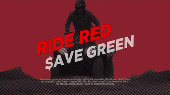 Honda ATV Clearance Event TV Spot, 'Save Green' - Thumbnail 3