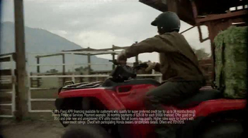 Honda ATV Clearance Event TV Spot, 'Save Green' - Thumbnail 9