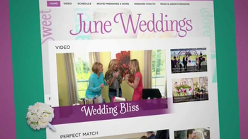 HallmarkChannel.com TV Spot, 'Weddings' - Thumbnail 2