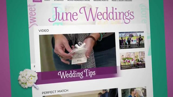 HallmarkChannel.com TV Spot, 'Weddings' - Thumbnail 3