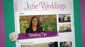 HallmarkChannel.com TV Spot, 'Weddings' - Thumbnail 4