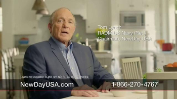 New Day USA 100 Home Loan TV Spot, 'Veteran Home Owners' - Thumbnail 1