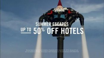 Travelocity TV Spot, 'Epic-er Summer Escapes' - 1892 commercial airings