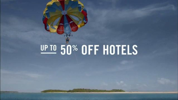 Travelocity TV Spot, 'Epic-er Summer Escapes' - Thumbnail 2