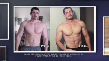 CB-1 Weight Gainer TV Spot, 'Fast Metabolism'