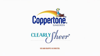 Coppertone Clearly Sheer Sunscreen TV Spot, 'WE TV' - Thumbnail 10