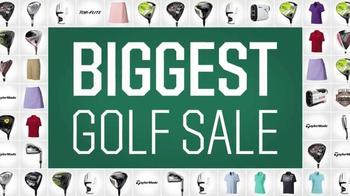 Dick's Sporting Goods Biggest Golf Sale TV Spot, 'Golf Galaxy' - Thumbnail 1