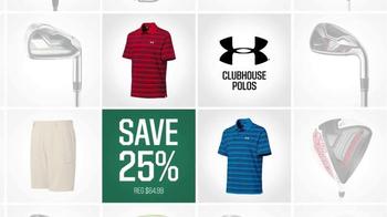 Dick's Sporting Goods Biggest Golf Sale TV Spot, 'Golf Galaxy' - Thumbnail 7