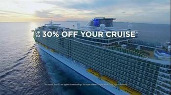 Royal Caribbean Cruise Lines Wow Sale TV Spot, 'Reduced Deposit' - Thumbnail 8