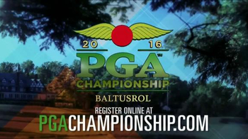 2016 PGA Championship TV Spot, 'Register Online' - 235 commercial airings