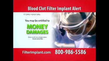 Curtis Law Group TV Spot, 'Blood Clot Filter' - Thumbnail 4