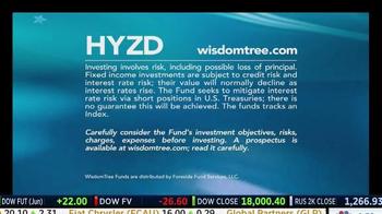 WisdomTree TV Spot, 'HYZD: High Yield Bond Zero Duration ETF' - Thumbnail 10