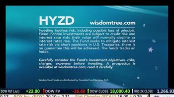 WisdomTree TV Spot, 'HYZD: High Yield Bond Zero Duration ETF' - Thumbnail 9