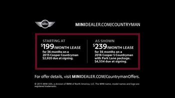 MINI USA Countryman TV Spot, 'Adventure: Lease Offer' Featuring Tony Hawk - Thumbnail 7