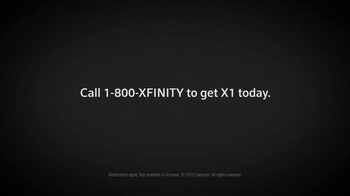 XFINITY X1 Entertainment Operating System TV Spot, 'Nervous' - Thumbnail 7