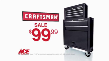 ACE Hardware TV Spot, 'Craftsman Father's Day' - 616 commercial airings