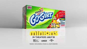 GoGurt TV Spot, 'Minion Jokes' - Thumbnail 9