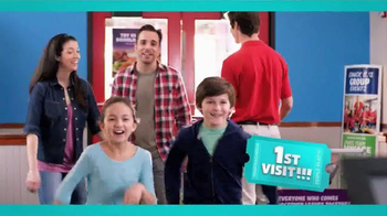 Chuck E. Cheese's Triple Play TV Spot, 'Visit More, Get Free Tickets' - Thumbnail 1