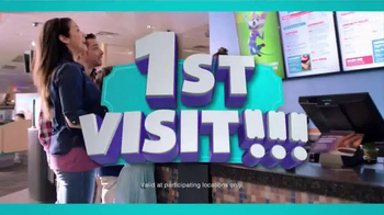 Chuck E. Cheese's Triple Play TV Spot, 'Visit More, Get Free Tickets' - Thumbnail 2