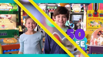 Chuck E. Cheese's Triple Play TV Spot, 'Visit More, Get Free Tickets' - Thumbnail 3