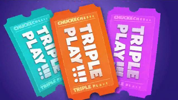 Chuck E. Cheese's Triple Play TV Spot, 'Visit More, Get Free Tickets' - Thumbnail 6