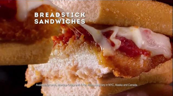 Olive Garden Breadstick Sandwiches TV Spot, 'Surprised Faces' - Thumbnail 8