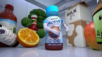 Ensure Active High Protein TV Spot, \'Out With the Milk\'