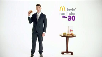 McDonald's Bacon & Cheese Sirloin Third Pound Burger TV Spot, 'Rhyme Time' - 19 commercial airings