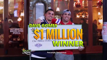 DraftKings TV Spot, 'Fantasy Golf Millionaire Maker'