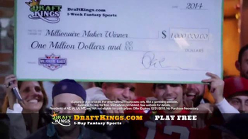 DraftKings TV Spot, 'Fantasy Golf Millionaire Maker' - Thumbnail 4