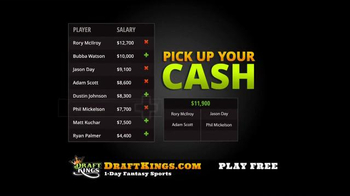 DraftKings TV Spot, 'Fantasy Golf Millionaire Maker' - Thumbnail 5