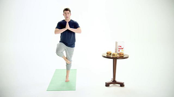 McDonald's Sirloin Third Pound Burgers TV Spot, 'Yoga' Feat. Max Greenfield - Thumbnail 1
