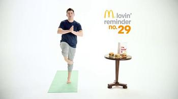 McDonald's Sirloin Third Pound Burgers TV Spot, 'Yoga' Feat. Max Greenfield - Thumbnail 4