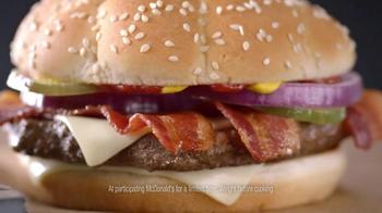 McDonald's Sirloin Third Pound Burgers TV Spot, 'Yoga' Feat. Max Greenfield - Thumbnail 7