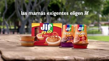 Jif To Go Dippers TV Spot, 'Todos aman un bocadillo' [Spanish] - Thumbnail 4