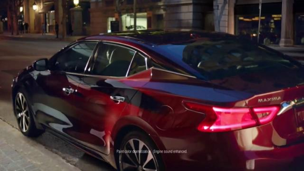 Nissan Maxima TV Commercial, 'Day and Night' Song by Wiz ...