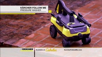 Karcher Follow Me Pressure Washer TV Spot, 'Get Yours Today'
