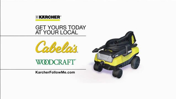 Karcher Follow Me Pressure Washer TV Spot, 'Get Yours Today' - Thumbnail 8