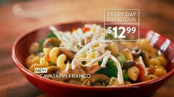 Carrabba's Grill Cavatappi Franco TV Spot, 'Full of Flavor' - Thumbnail 4
